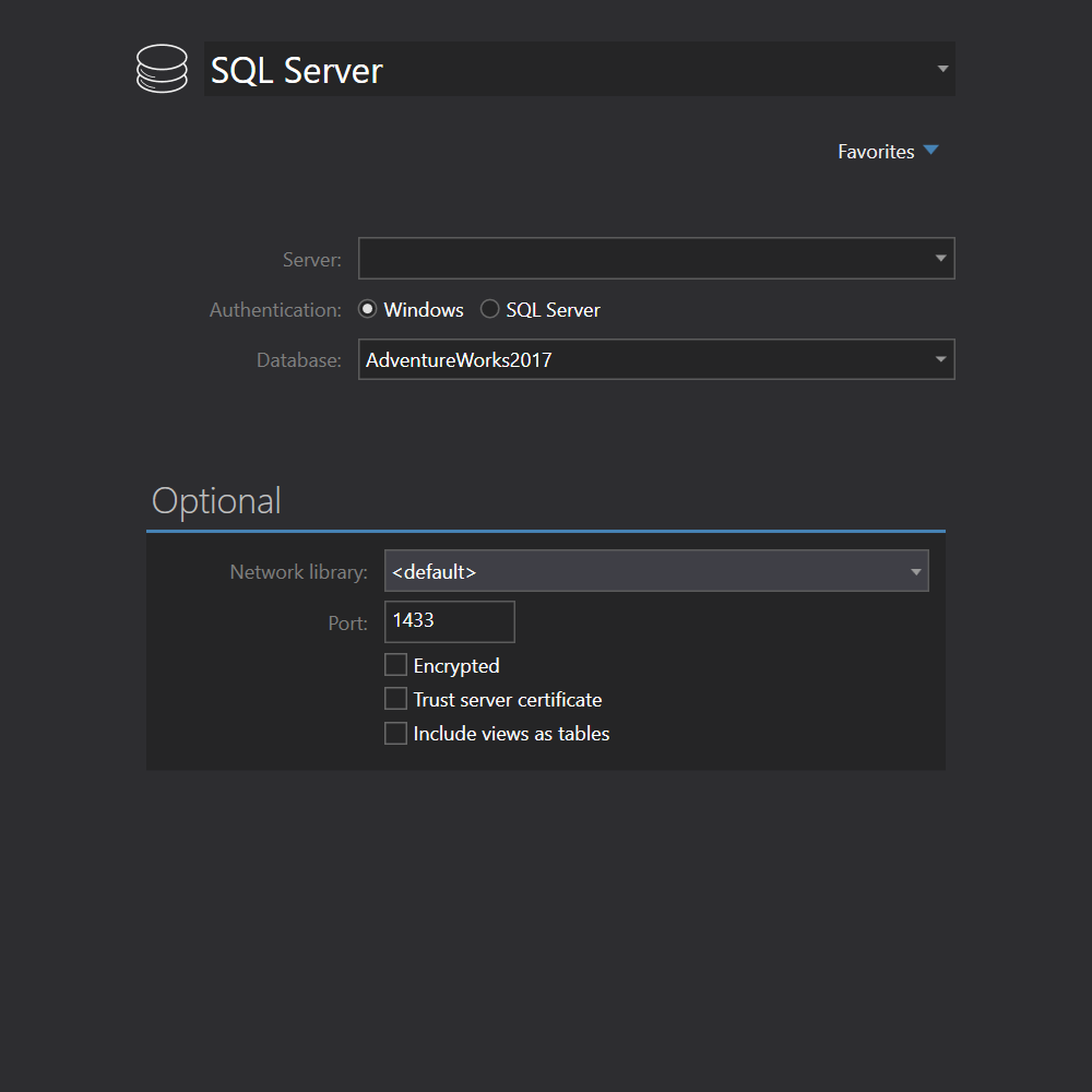 SQL Server Express connection